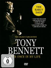 Cover Tony Bennett - For Once In My Life - The Early Days [DVD]